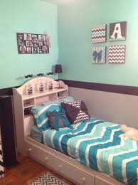 grey mint green and black chevron room cuteness pinterest