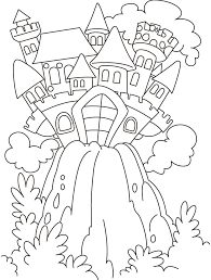fairy tale coloring pages print kids coloring