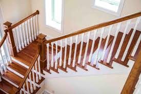 What Is A Banister On Stairs by How To Refinish Indoor Stair Railings Angie U0027s List