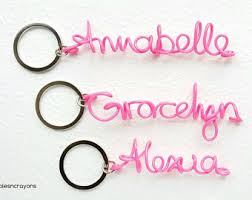 personalized keychain party favors personalized name keychain party favors custom name
