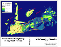 Florida Elevation Map by Gis Blog Week 3 Hurricanes