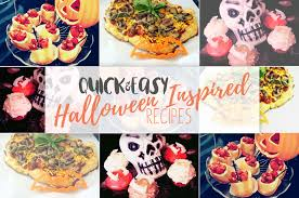 collection of quick u0026 easy halloween inspired recipes modern