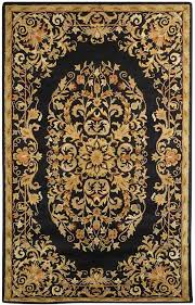 Black And Gold Rug Astoria Grand Balthrop Black Gold Area Rug U0026 Reviews Wayfair