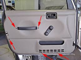how to take doors a jeep wrangler how to remove door panels on a 2004 jeep wrangler