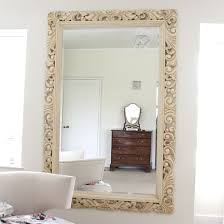 carved wood ivory framed mirror wood framed mirrors free uk