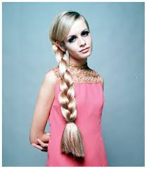 fashion icon plaited hair twiggy lawson adorable in pink fashion beauty icons