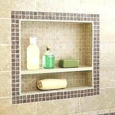 bathroom shower niche ideas subway tile niche tile white subway tile shower niche thenorthleft com