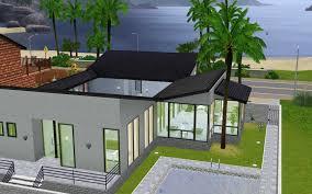 The Sims 3 House Floor Plans Home Design Modern House Floor Plans Sims 3 Beach Style