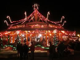 tr busch garden u0027s williamsburg christmas town theme park review