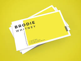 card design brodie business card by d s creative design on