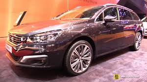 peugeot 508 interior 2016 2016 peugeot 508 sw gt exterior and interior walkaround 2016