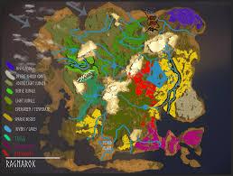 ragnarok map ragnarok ark survival evolved map wiki fandom powered by