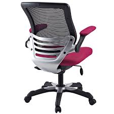 amazon com modway edge mesh office chair in red kitchen u0026 dining