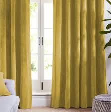 Gold Velvet Curtains Gold Velvet Curtains Blackout Curtains Koikaa
