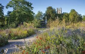 merton borders in the university of oxford botanic garden united
