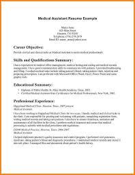 Medical Assistant Resume Objective Samples by 25 Melhores Ideias De Exemplos De Objetivos De Candidatura No