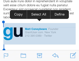 I Messed Up My Signature - the right way to install an html signature in ios 7 mail