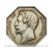 chambre de commerce de marseille napoléon iii 1852 1870 jeton otogonal chambre de commerce de