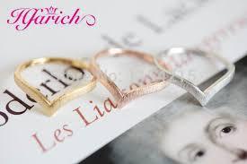 vintage chevron gold diamond v shape ring buy diamond v shape hfarich fashion gold silver gold wire chevron rings v shape