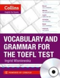 collins vocabulary and grammar for the toefl test buy collins