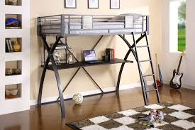 black loft bed with desk u2013 style meets function homesfeed