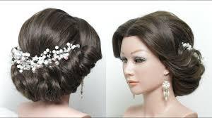 hair tutorials for medium hair elegant updo hairstyle tutorial for medium long length hair the