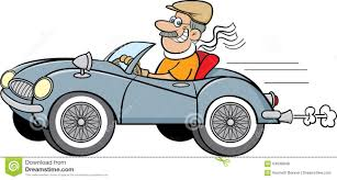 classic cars clip art old man driving