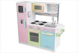 cuisine kidkraft cuisine kidkraft en bois jouet cuisine enfant uptown pastel
