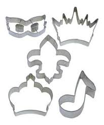 mardi gras cookie cutters mardi gras regal crown cookie cutter minis the o jays and mardi