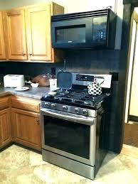 installing under cabinet microwave microwave above stove how to install microwave stove with microwave