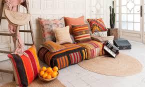 la maison du kilim cojines kilim diseño de interiores estilo marroquí chillout
