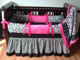 damask crib bedding is sophisticated home inspirations design