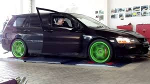 mitsubishi evo wagon black lancer evolution ix