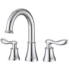 silver three set bathtub faucet for bathroom