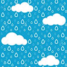 la lluvia de fondo sin fisuras ilustraciones vectoriales clip art