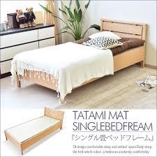 Single Frame Beds Kagunomori Rakuten Global Market Single Bed Tatami Bed Frame
