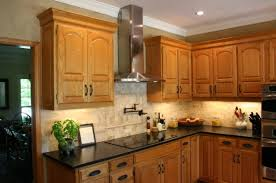 Kitchen Cabinet With Countertop Granite With Oak What Color Light Or Dark Kitchens Forum