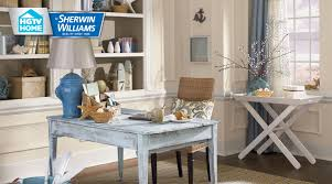 Livingroom Paint Colors by Coastal Cool Wallpaper Collection Hgtv Home By Sherwin Williams