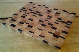 end grain butcher block u2013 random pattern