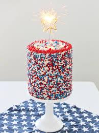 4th of july funfetti cake cake by courtney