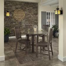 Round Dining Room Tables Concrete Chic Round Dining Table Walmart Com