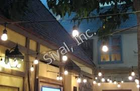 commercial outdoor string lights exotic commercial grade outdoor string lights bistro style string