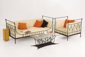 canape fer forge canapé fer forgé elodia fauteuil en fer forgé fauteuil salon
