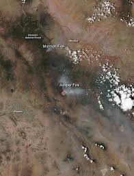 California Wildfires 2007 Environmental Effects by Wildfires In Arizona Still Burning Nasa