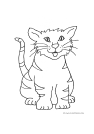 Halloween Cat Poems Cat Coloring Pages