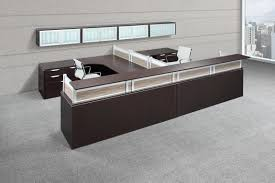Two Person Reception Desk Images Of Executive U Shape 2 Person Reception Desk