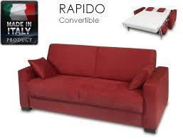 canapé lit ouverture rapide canap convertible pour couchage quotidien canape