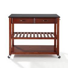 Black Granite Top Kitchen Island Crosley Furniture Kitchen Cart Crosley Furniture Kf3000 Kitchen