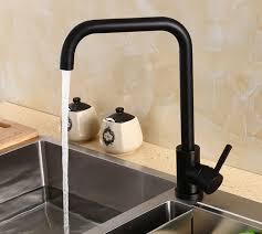 Lead Free Kitchen Faucets 2018 Lead Free Kitchen Faucet Black Swivel Kitchen Sink Mixer Tap
