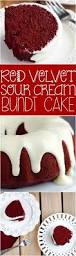 this red velvet sour cream bundt cake with cream cheese buttermilk